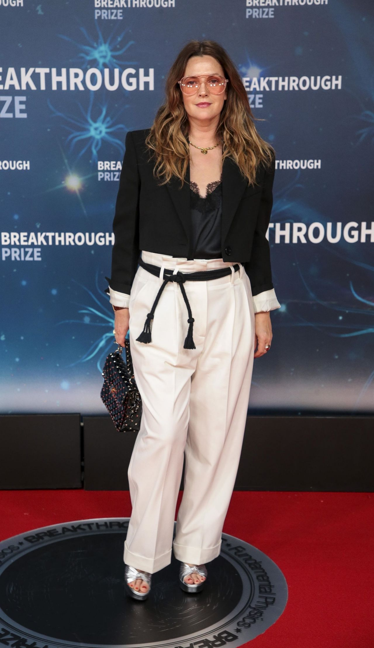 drew barrymore 2020 breakthrough prize ceremony 9