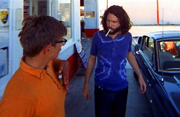 jim at gas station