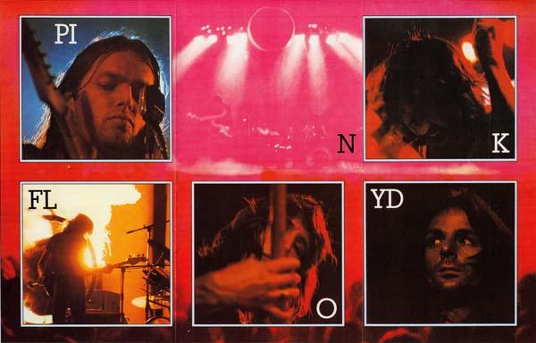 pink floyd dark side moon band poster
